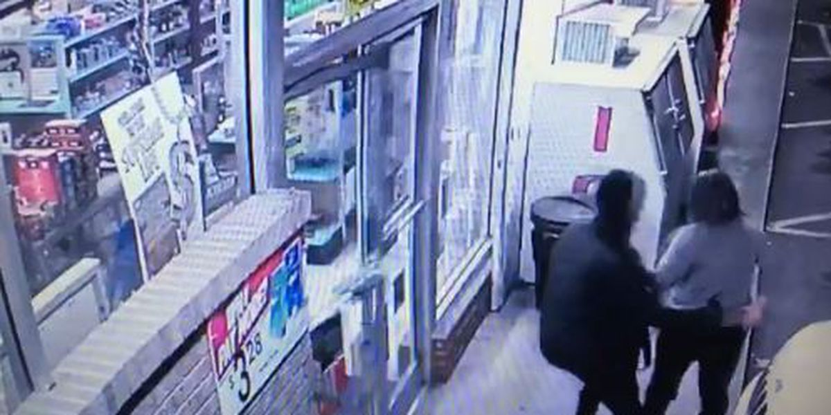 Store co-owner refuses to give in to armed robber, crook flees