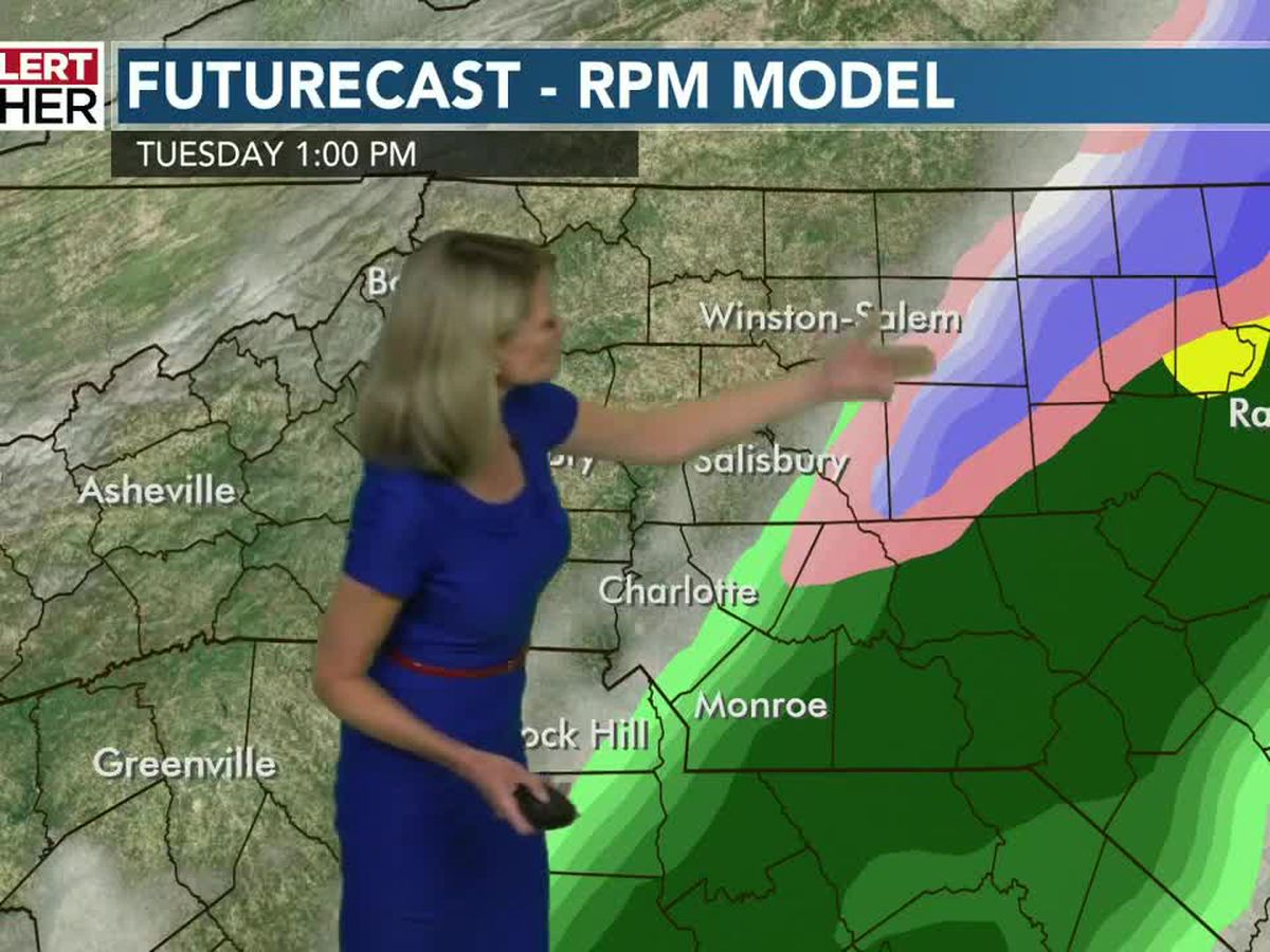 First Alert Tuesday - Winter Weather Advisory in effect for several NC counties, snow expected