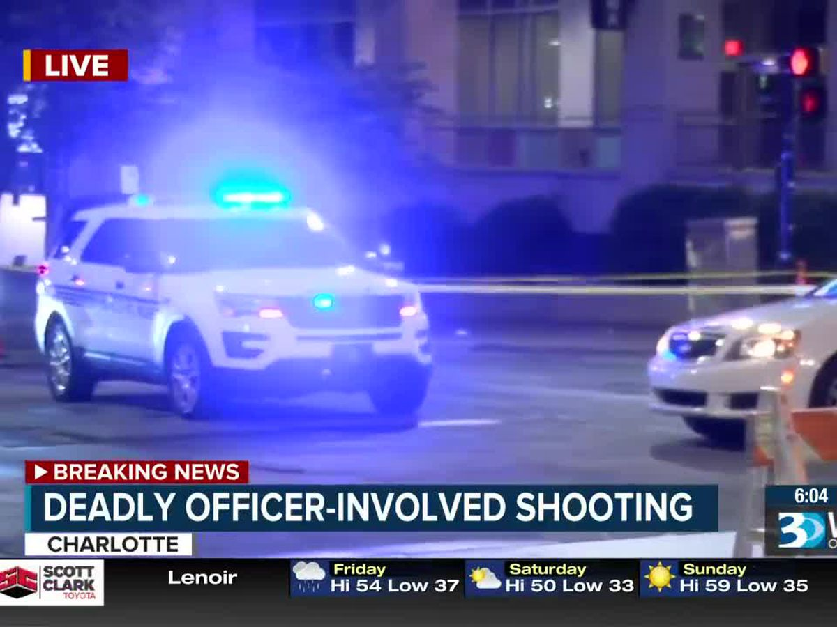 One dead, another hurt in officer-involved shooting at Charlotte's Epicentre