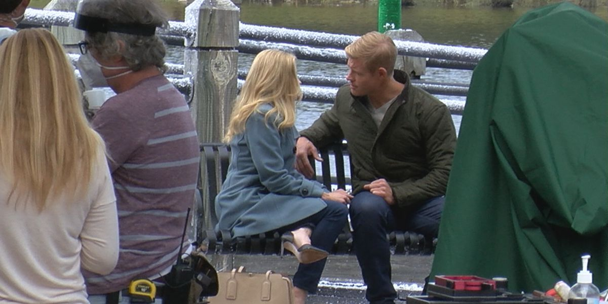 Hallmark releases first look at Wilmington-shot 'USS Christmas'