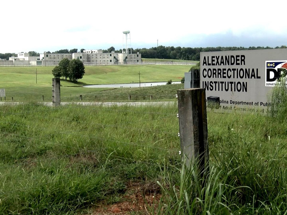 Sixth inmate dies after testing positive for COVID-19 at Alexander Correctional Institution