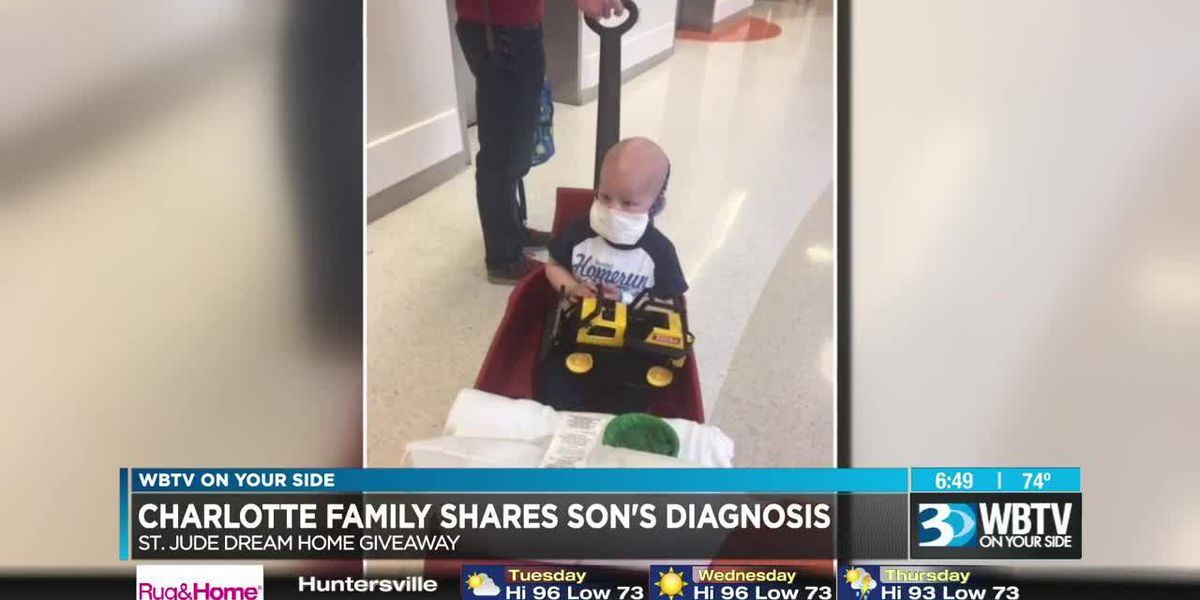 Charlotte family helped by St. Jude shares cancer fight