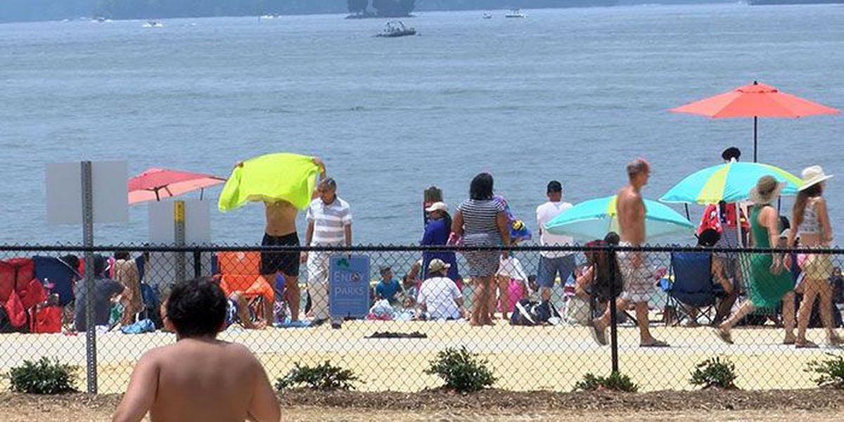 Lake patrol, beach-goers putting safety first this Fourth of July
