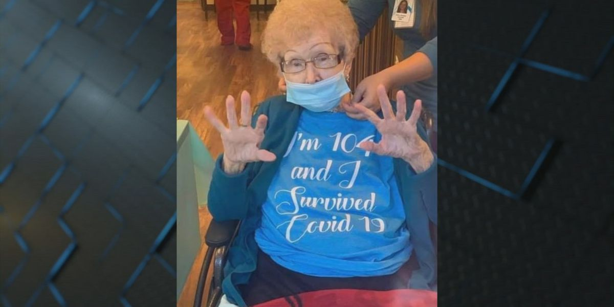Randolph County woman celebrates 104th birthday after COVID-19 fight