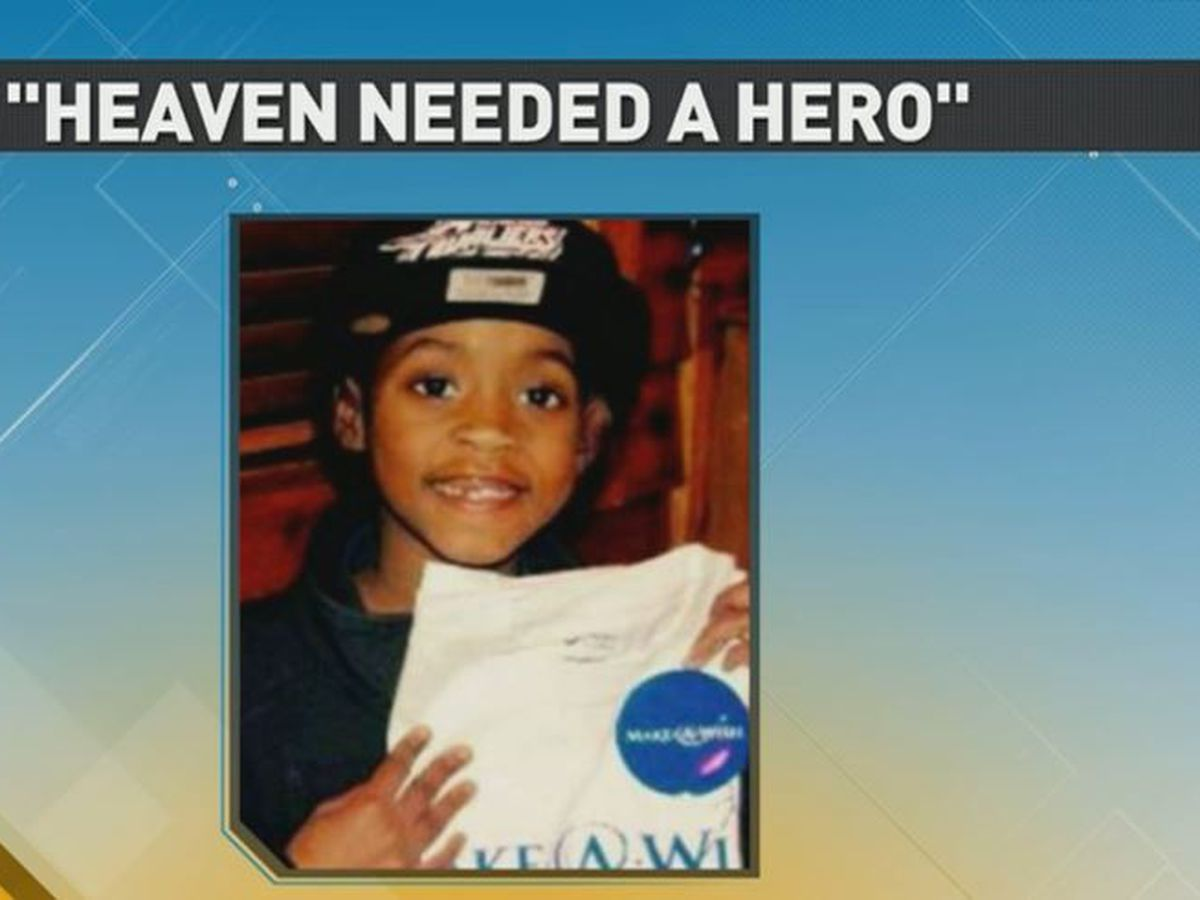 'Heaven needed a hero': N.C. mom writes book about overcoming loss of son