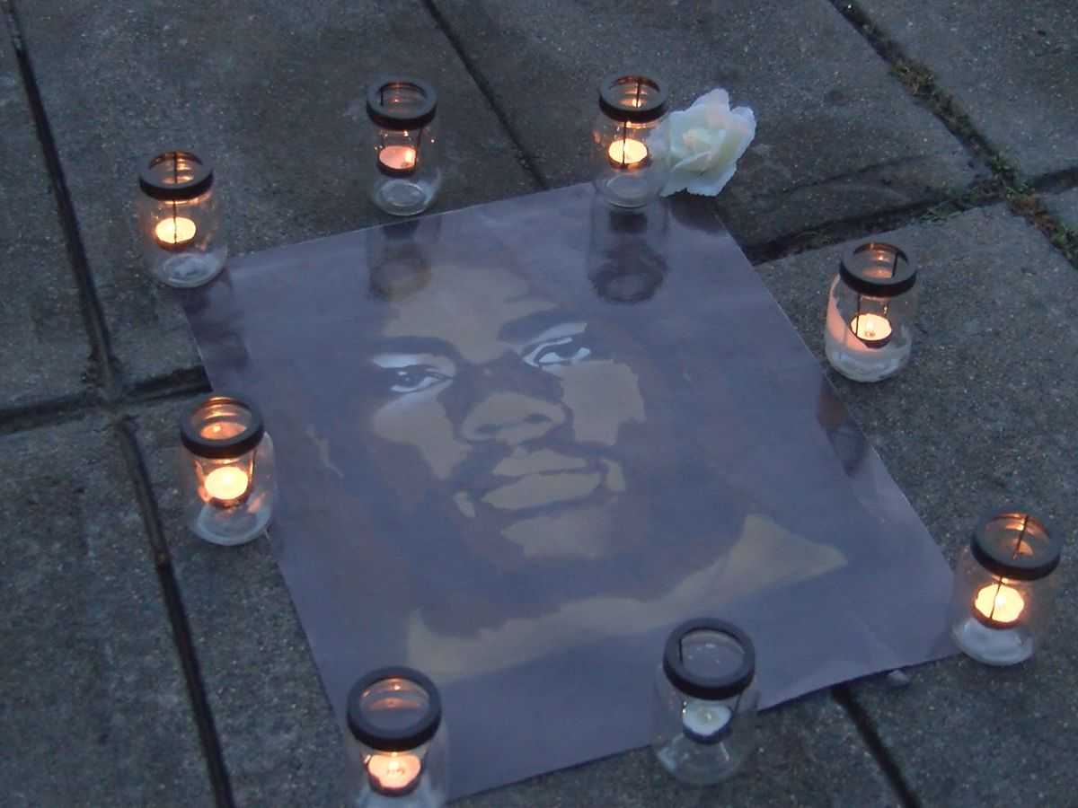 Activists hold vigil to commemorate officer-involved shooting death of Jonathan Ferrell