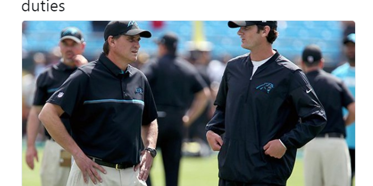 Panthers' Mike Shula, Ken Dorsey 'relieved of their duties'