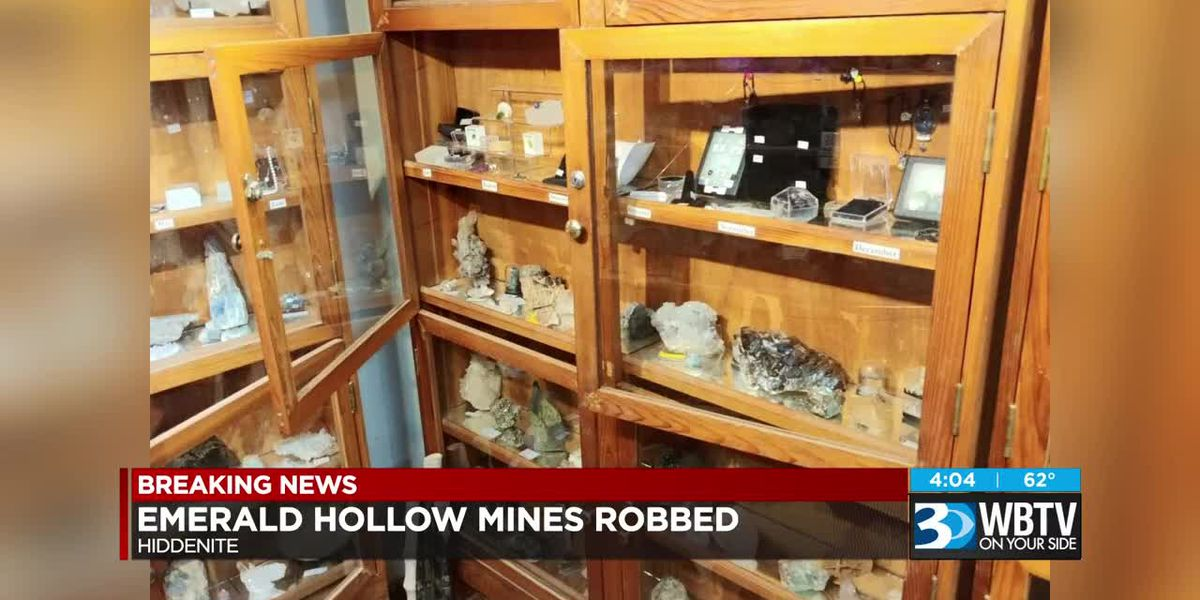 $60,000 worth of precious gems stolen during break-in at NC emerald mine