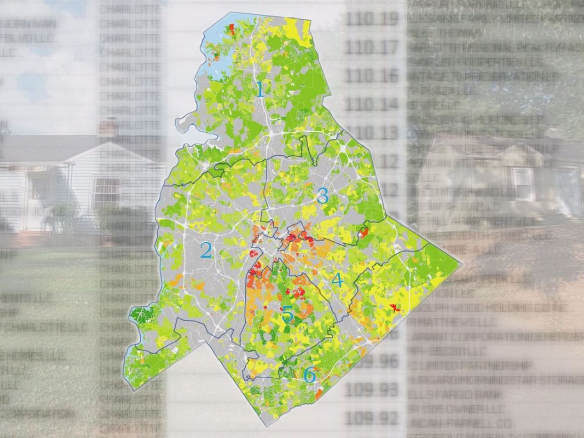Taxes increasing $100+ a month for more than 23,000 Mecklenburg property owners