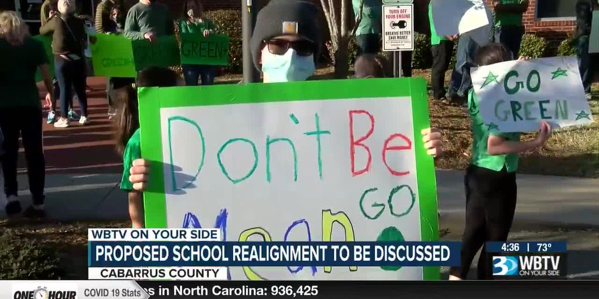 Proposed school realignment to be discussed in Cabarrus County