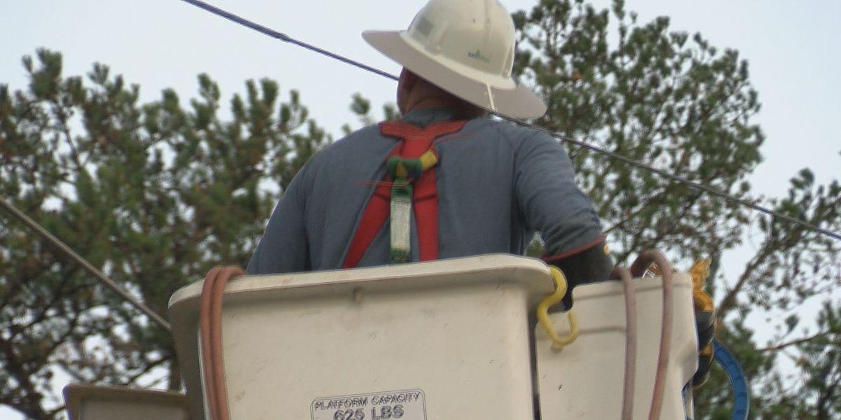 Thousands still without power Thursday night after Zeta moves through Carolinas