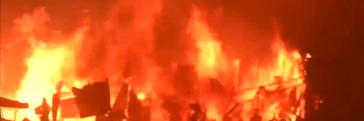 10K homeless after fire in Bangladesh