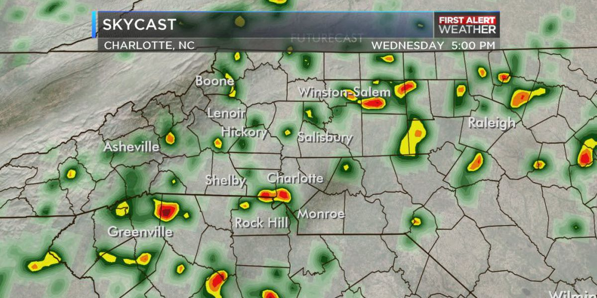 First Alert Day declared for Wednesday ahead of heavy rain, possible storms