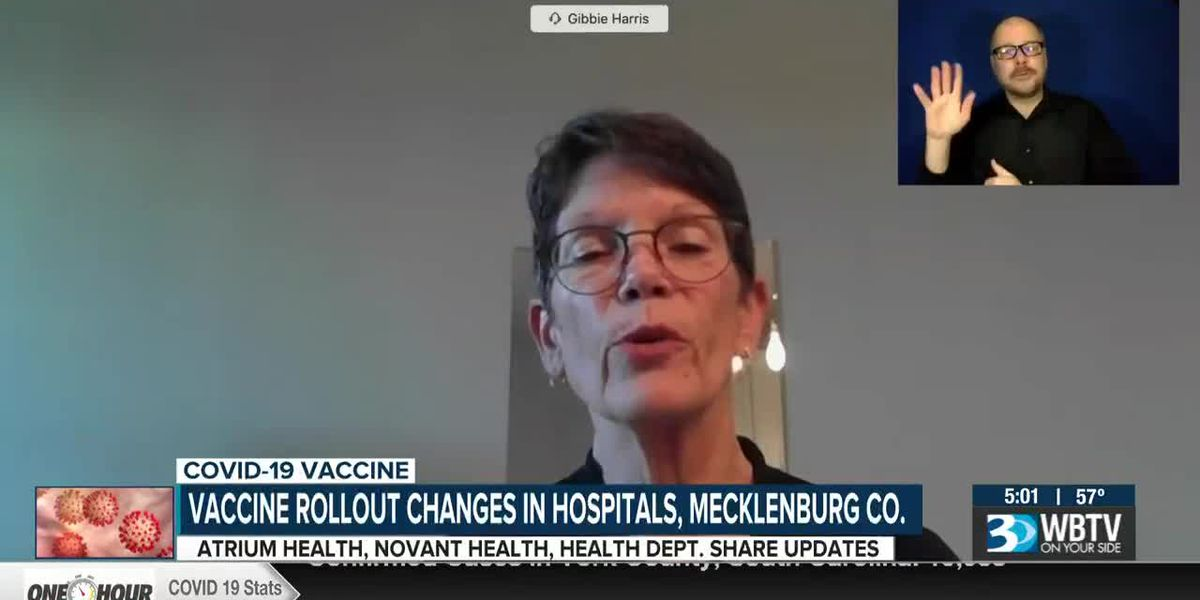 Mecklenburg County to open COVID-19 vaccination appointments for those 65 and older