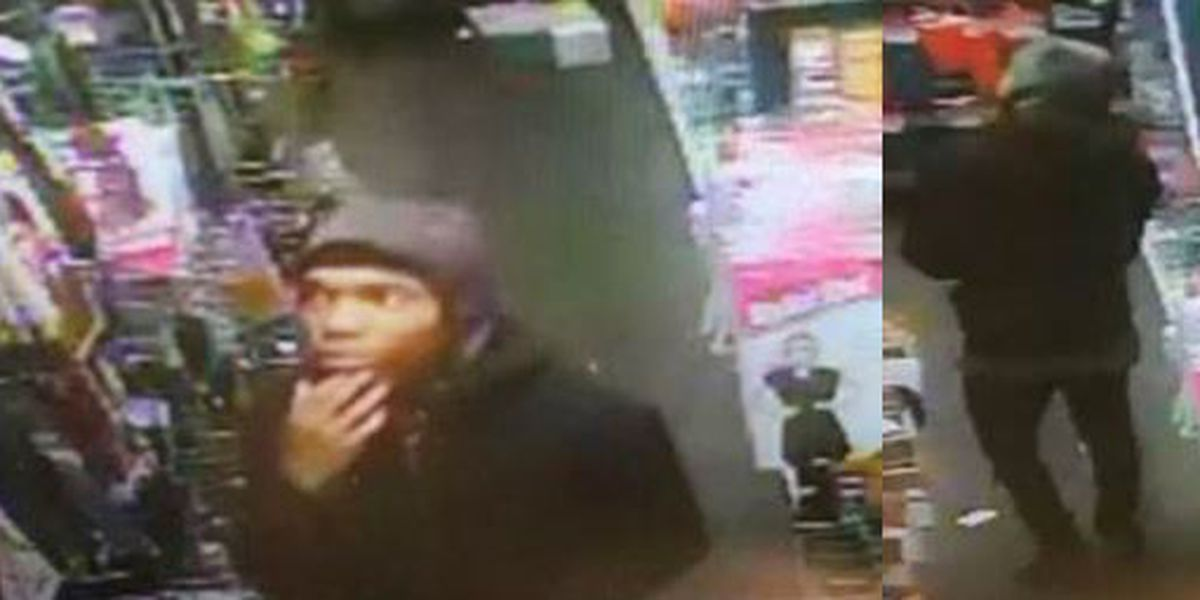 Man wanted in armed store robbery