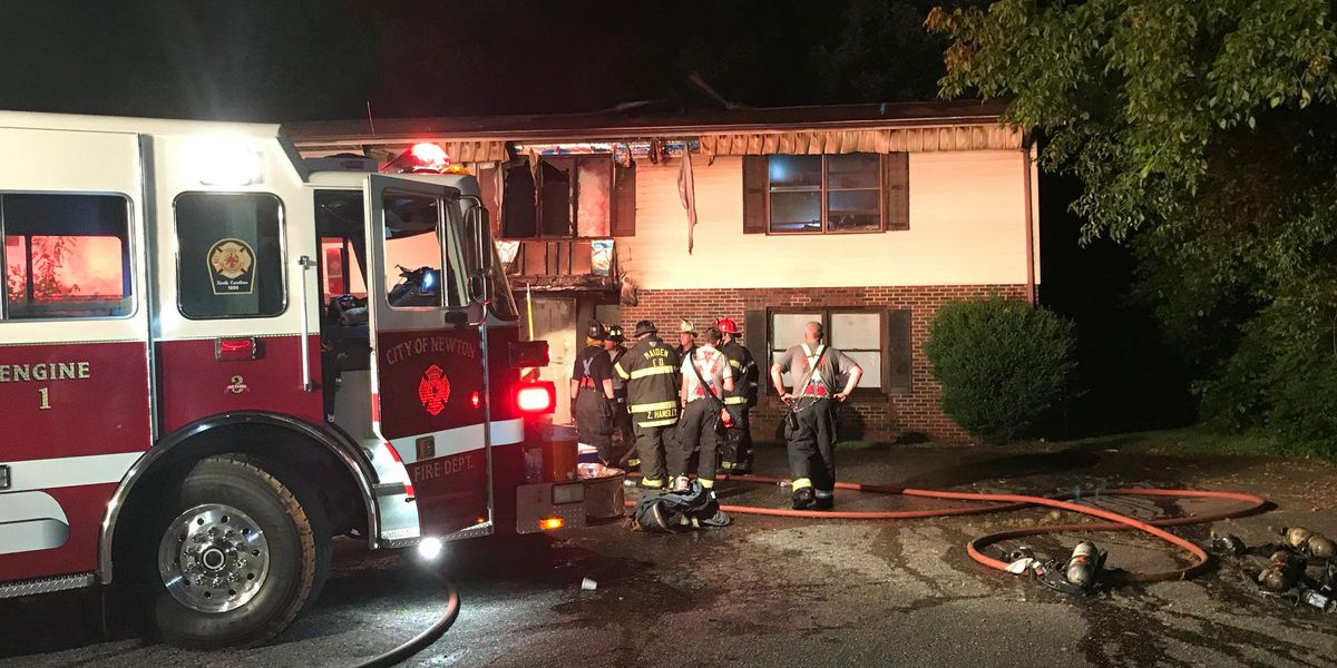 Crews investigating exact cause of apartment fire that displaced ten people in Newton