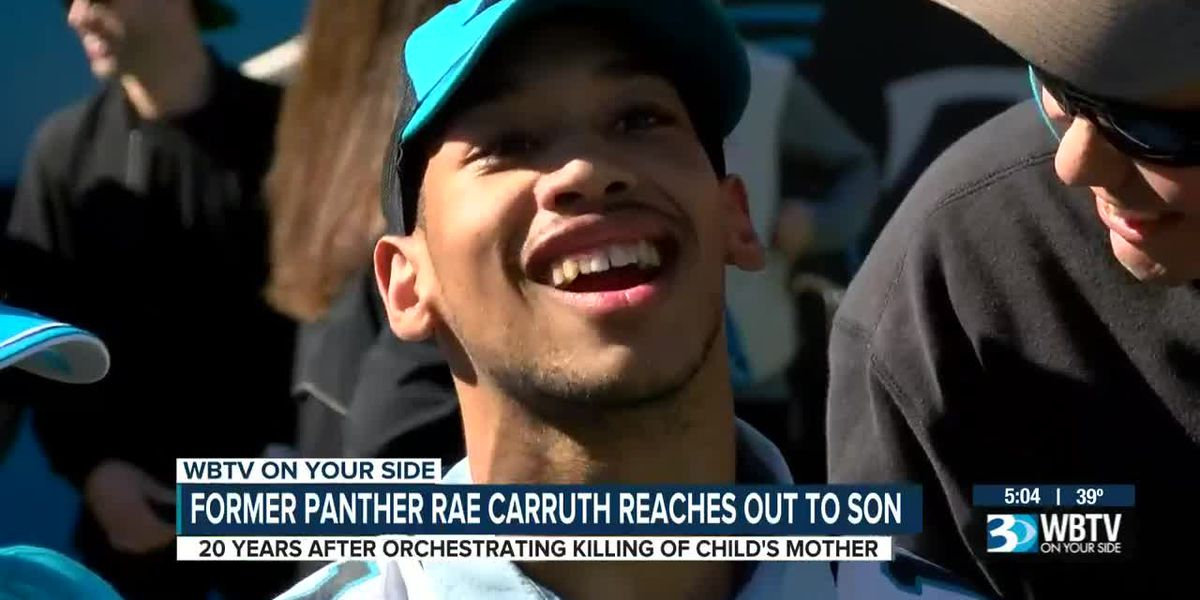 Former Panther Rae Carruth reaches out to son