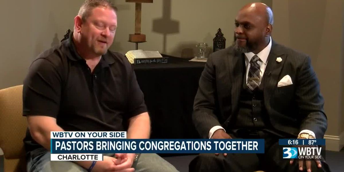 One black church, one white church coming together to address racial issues