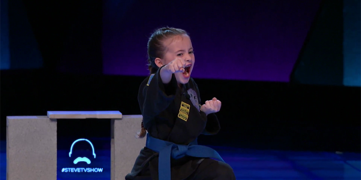 Talented, young Concord girl shows off mad karate skills