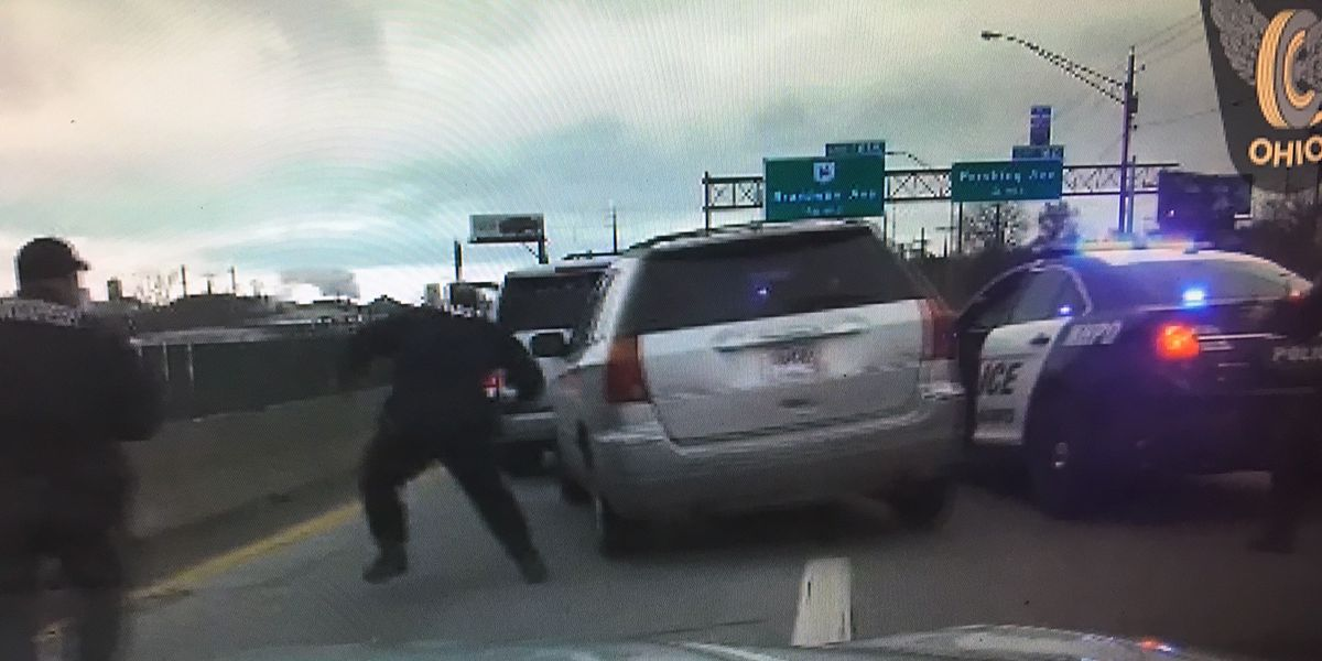 Ohio woman tells police she didn't stop during high-speed chase because she was on her way to work