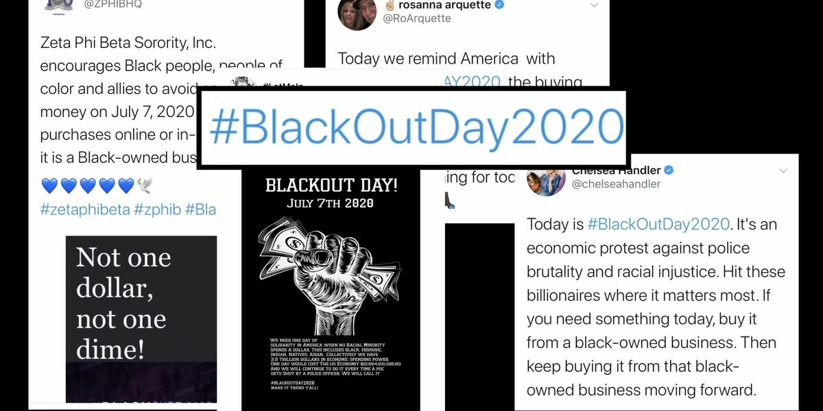 Blackout Day draws national attention to Black spending power