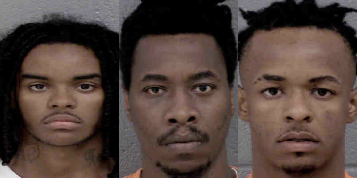 Three arrested in series of armed robberies at Charlotte businesses