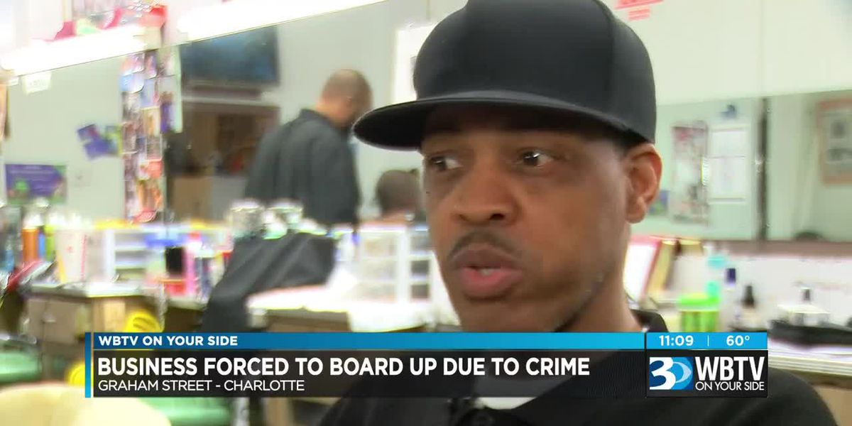Business forced to board up due to crime