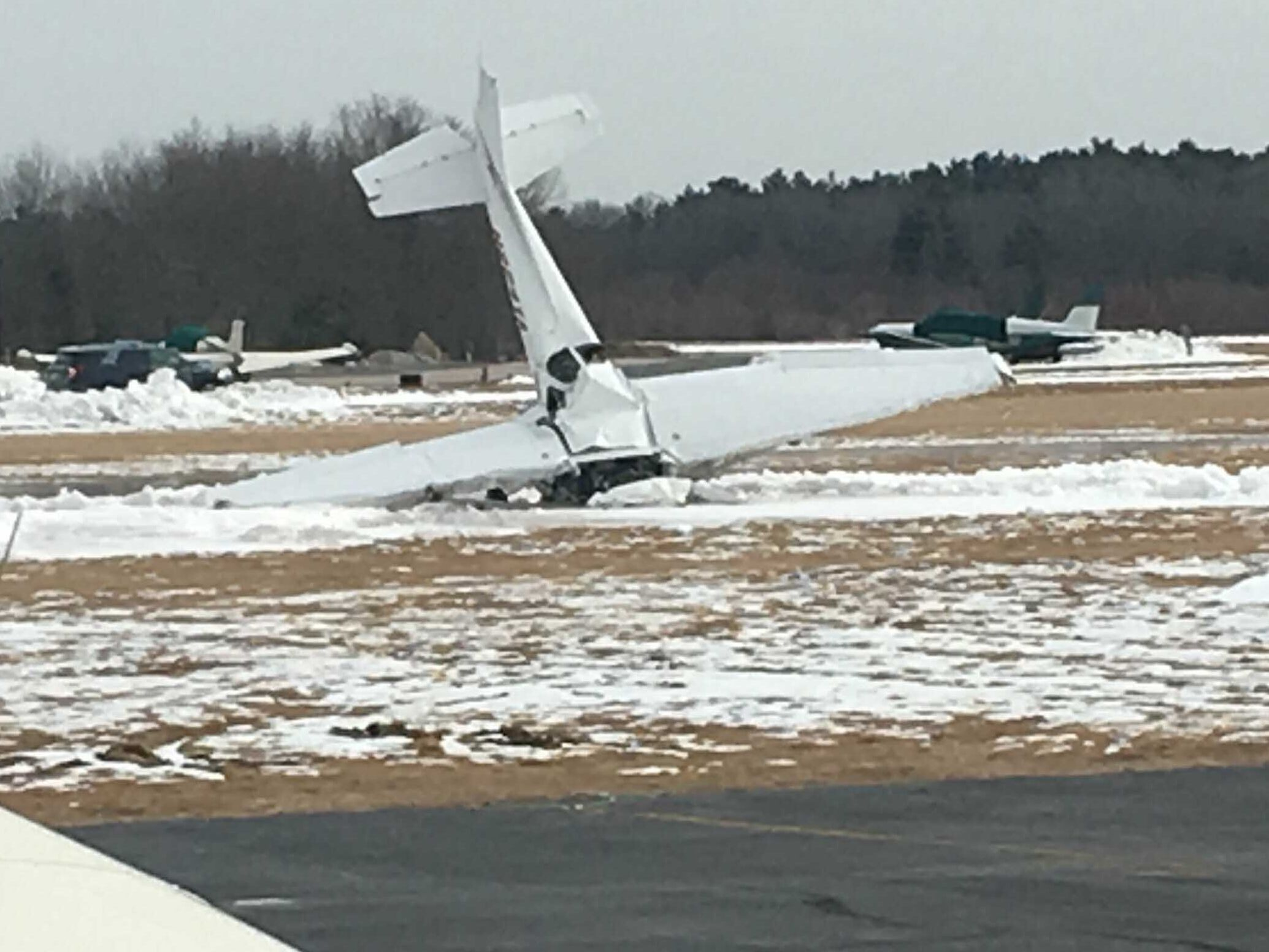 Small plane crashes at MA airport, catches fire; 2 are killed