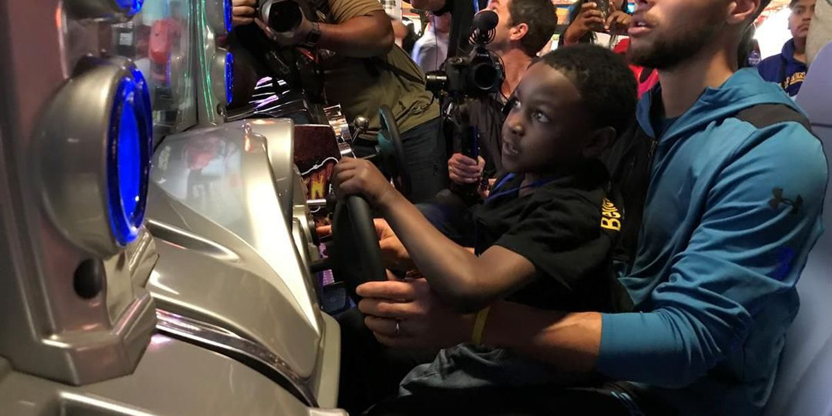 Union County boy whisked off to meet NBA star thanks to Charlotte charity