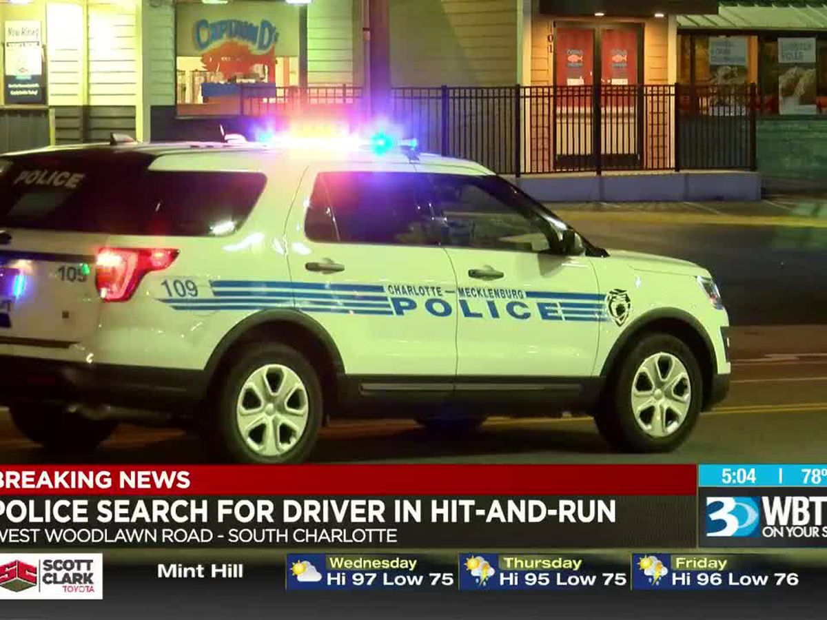 Pedestrian struck, seriously injured in Charlotte hit-and-run