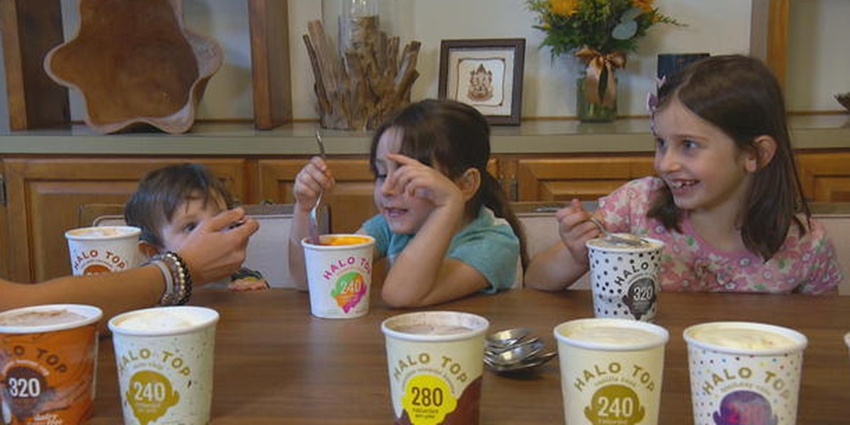 Behind the trend of low-calorie ice cream
