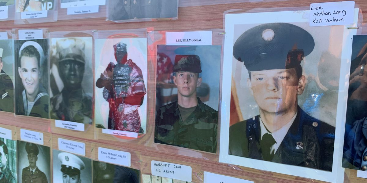Whiteville's Veterans Memorial Park of America hopes to receive 1,000 veteran photos by Independence Day