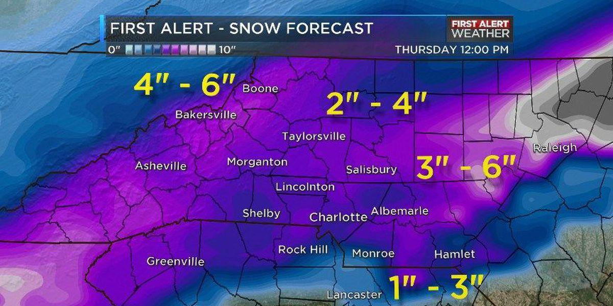 BLOG: Latest Snow Forecast