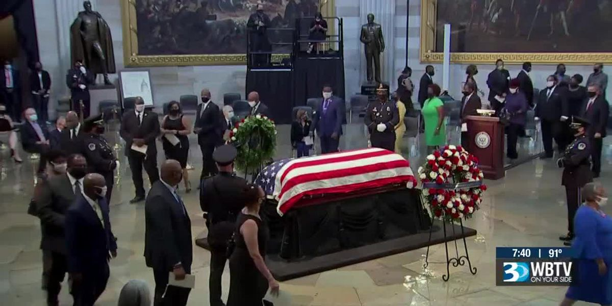 Steve Crump reflects on moments in the United States Capitol rotunda