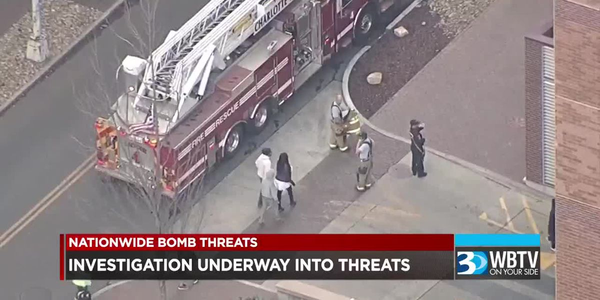 Investigation underway into bomb threats