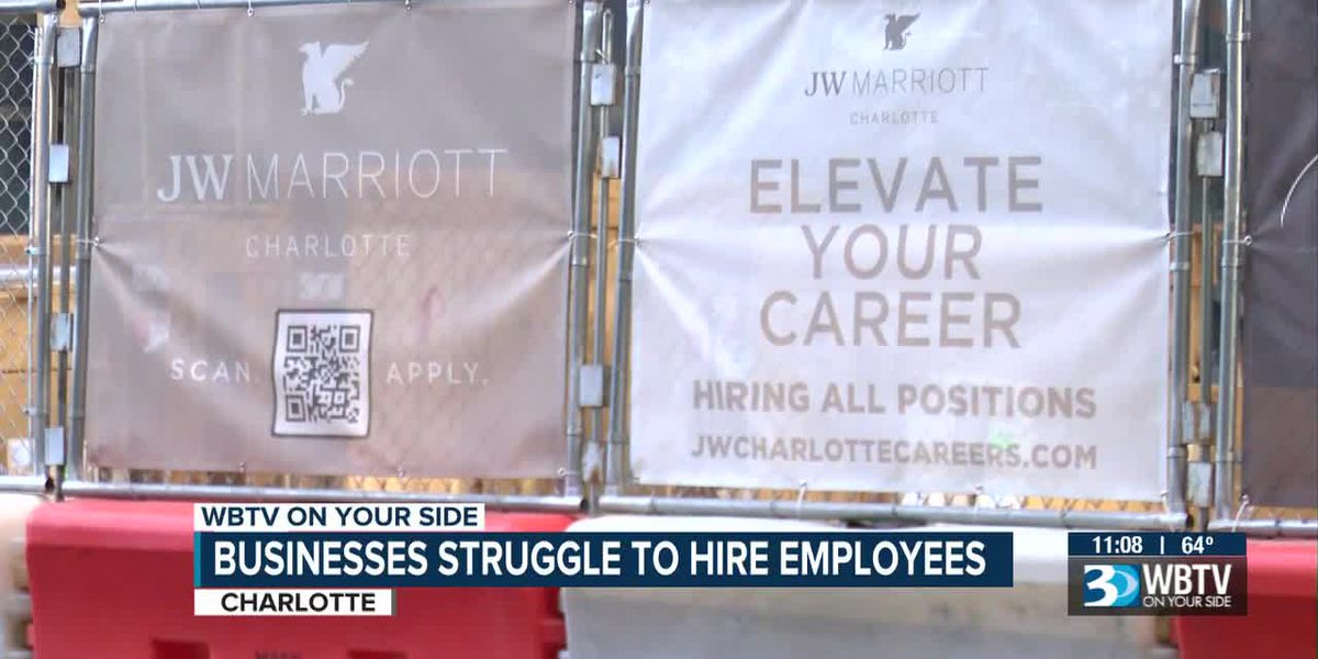Businesses struggle to hire employees
