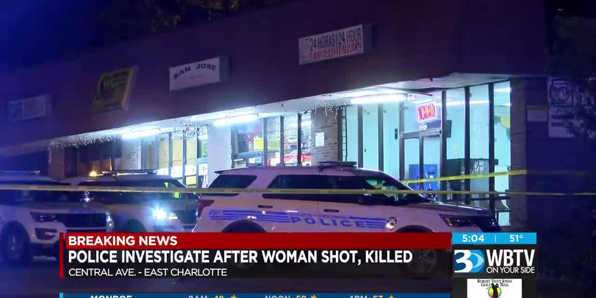 Woman found dead behind east Charlotte laundromat