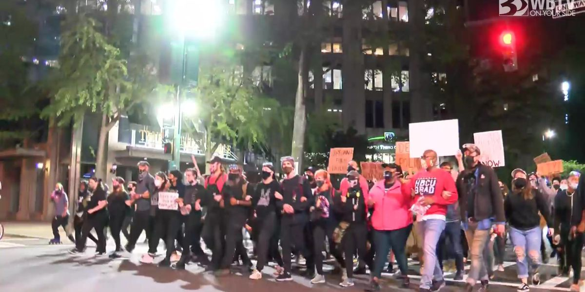 Charlotte march happening after officers not charged for death of Breonna Taylor