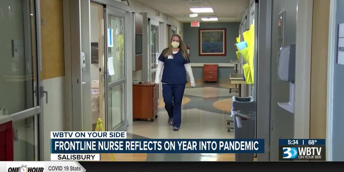 Frontline nurse reflects on a year into the COVID-19 pandemic