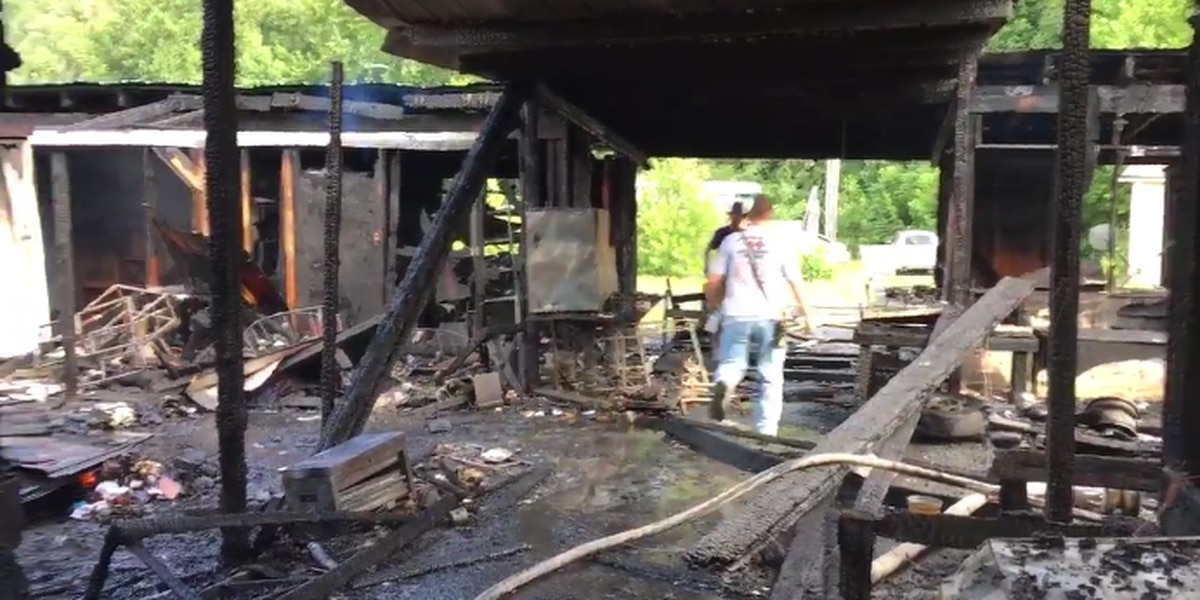 Six businesses destroyed in fire at Burke County Flea Market