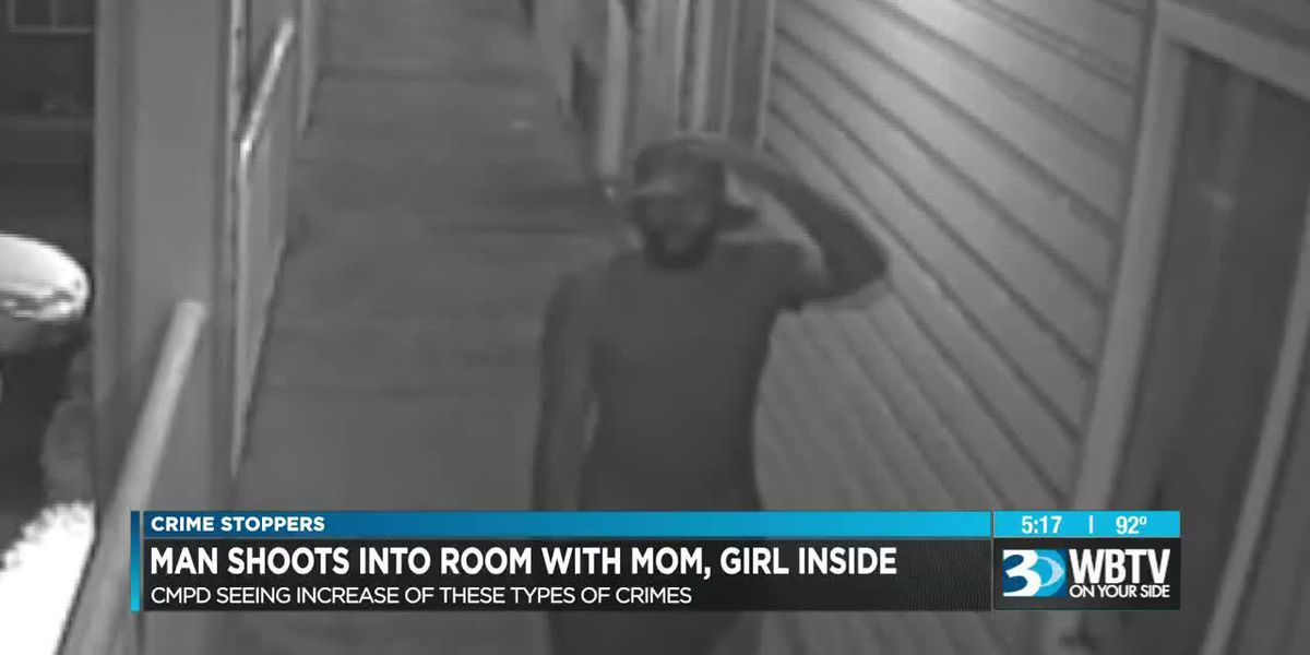 Crime Stoppers: Man shoots into room with mom, girl inside