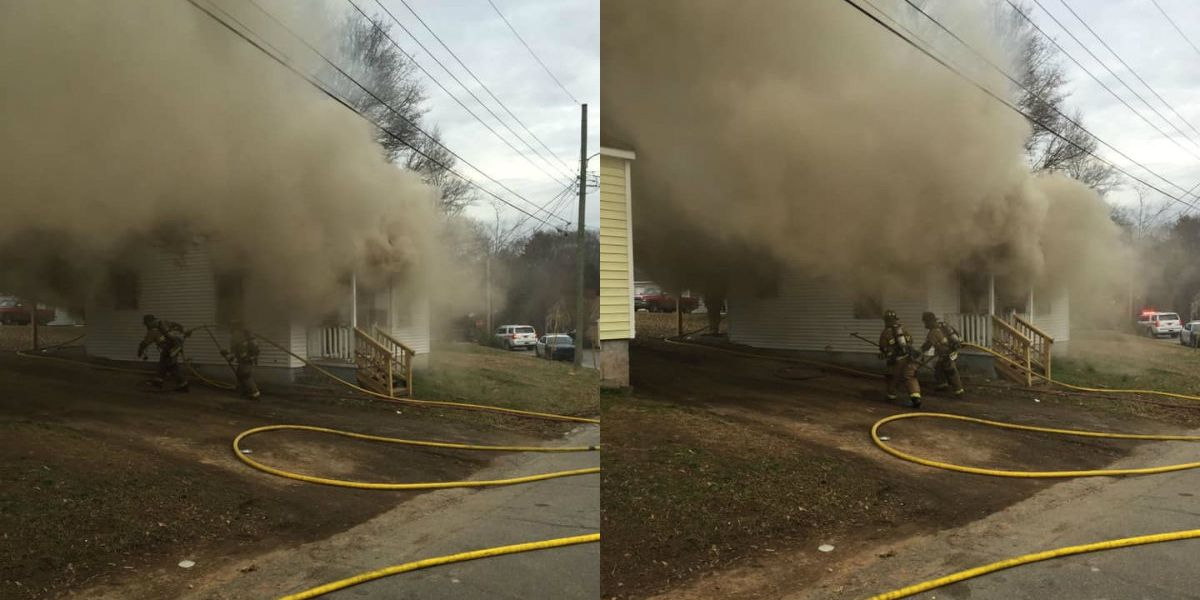 House set on fire in Gastonia, no injuries