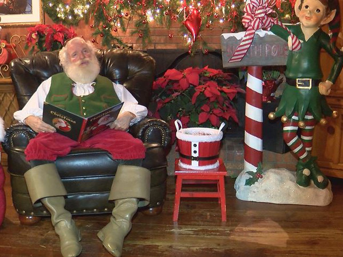 'Storybook Santa' is back, receiving visitors in his Gastonia home