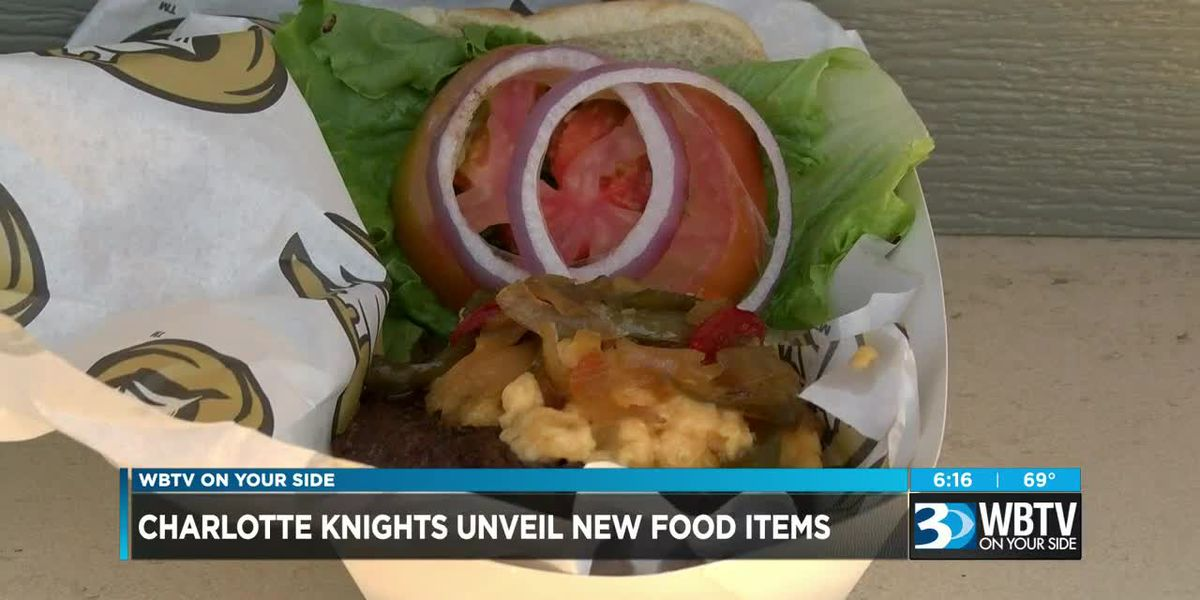 Charlotte Knights unveil new food items for 2019