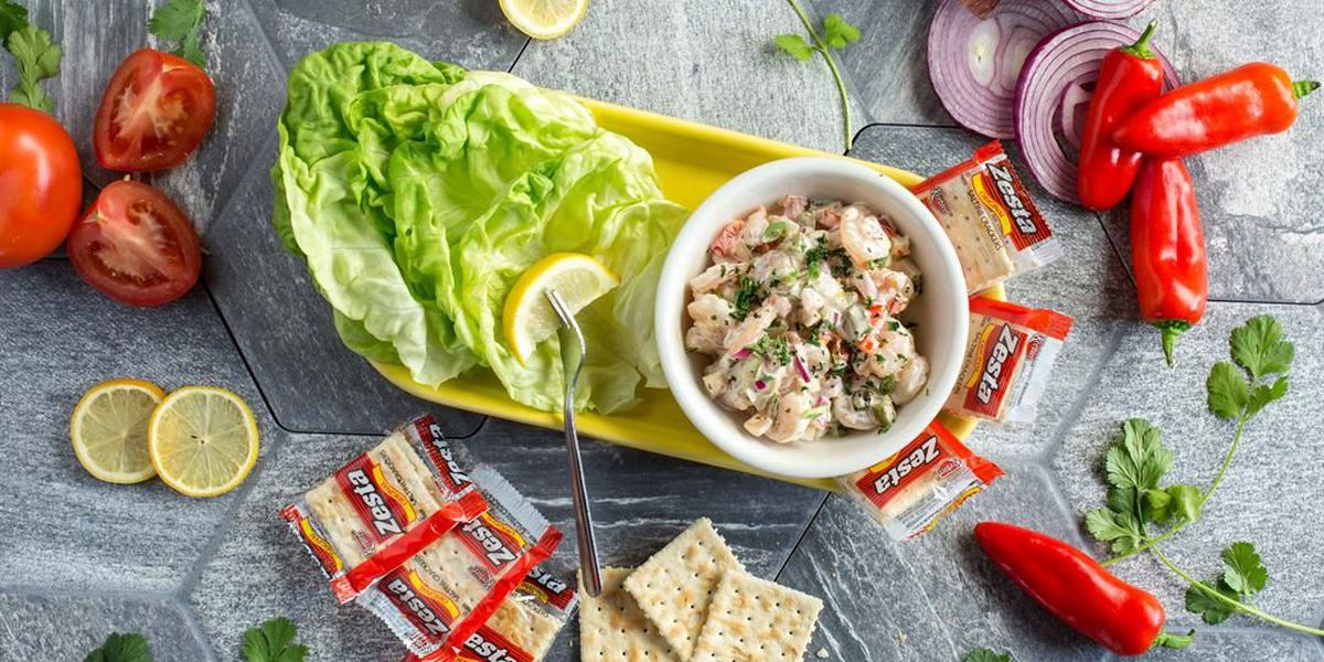 Razzoo's Shrimp Salad Lettuce Wraps
