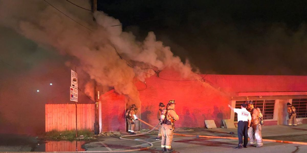 Fire destroys north Charlotte business overnight