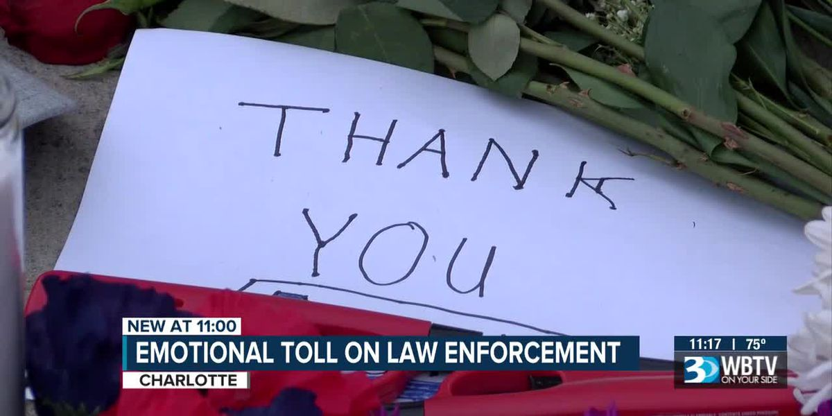 Emotional toll on law enforcement