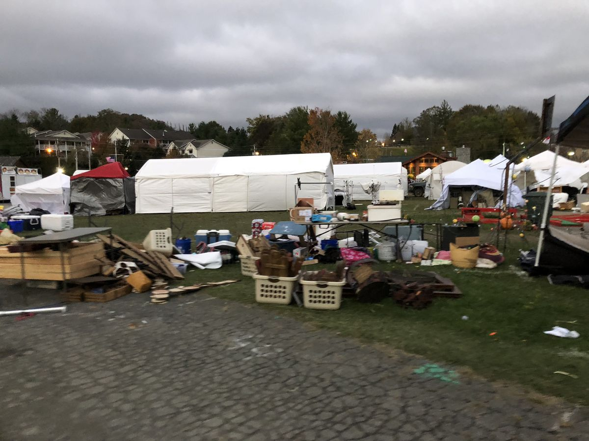 Woolly Worm Festival in Banner Elk cancelled after wind damage