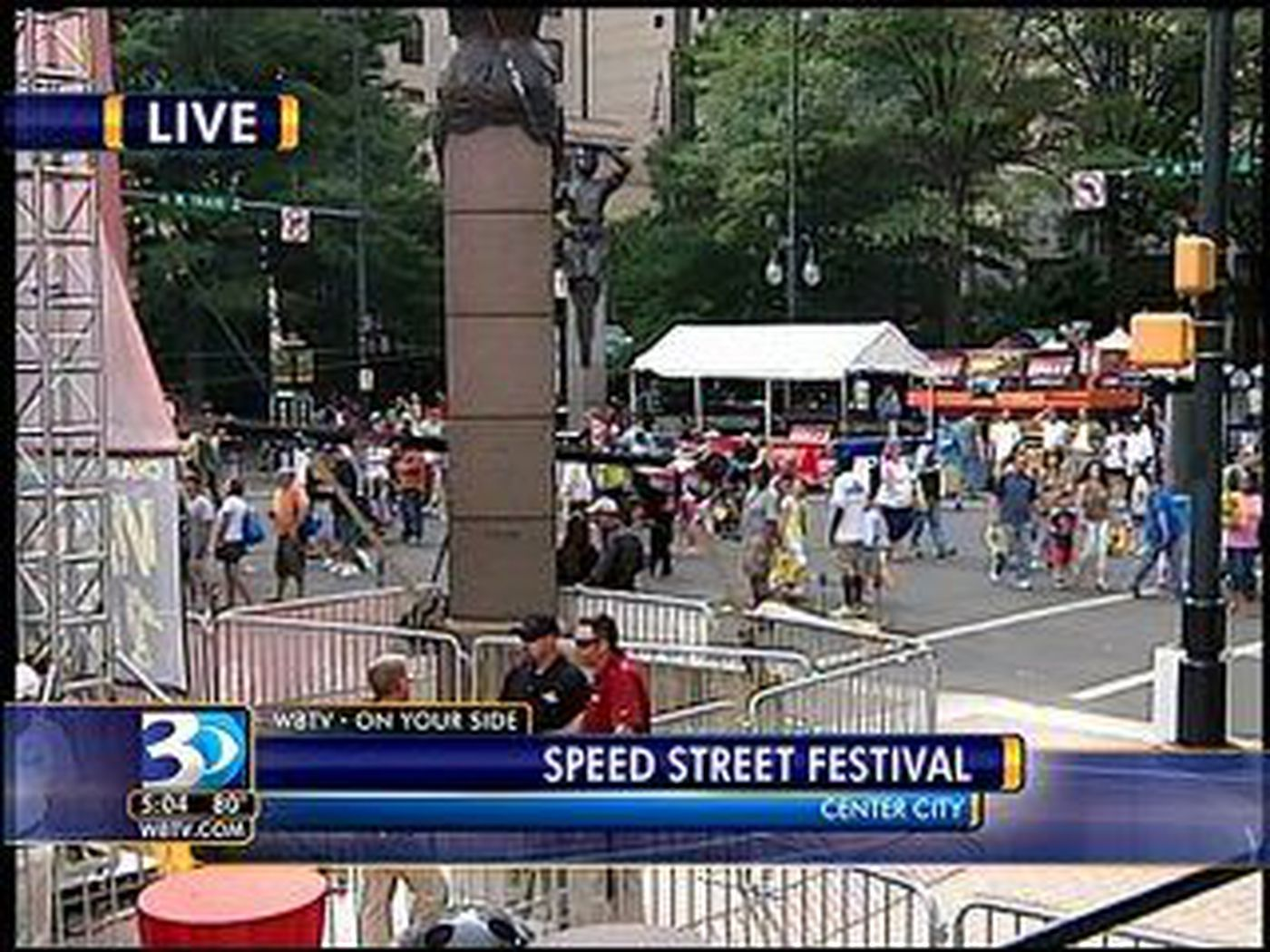 Food Lion Speed Street Attracting Thousands Of Race Car Fans