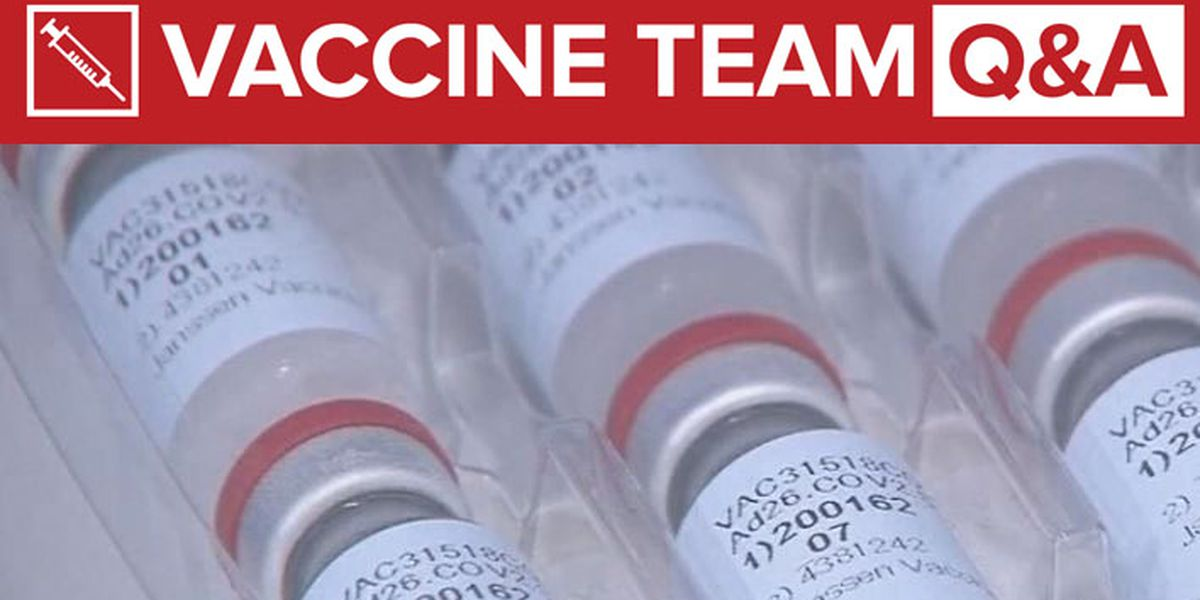 VACCINE TEAM: How many initial doses of Johnson & Johnson vaccine will be sent to Carolinas?